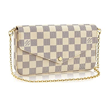 71d4ba4323c2 Image Unavailable. Image not available for. Color  Louis Vuitton Damier  Canvas Pochette Felicie Wallets Handbag ...