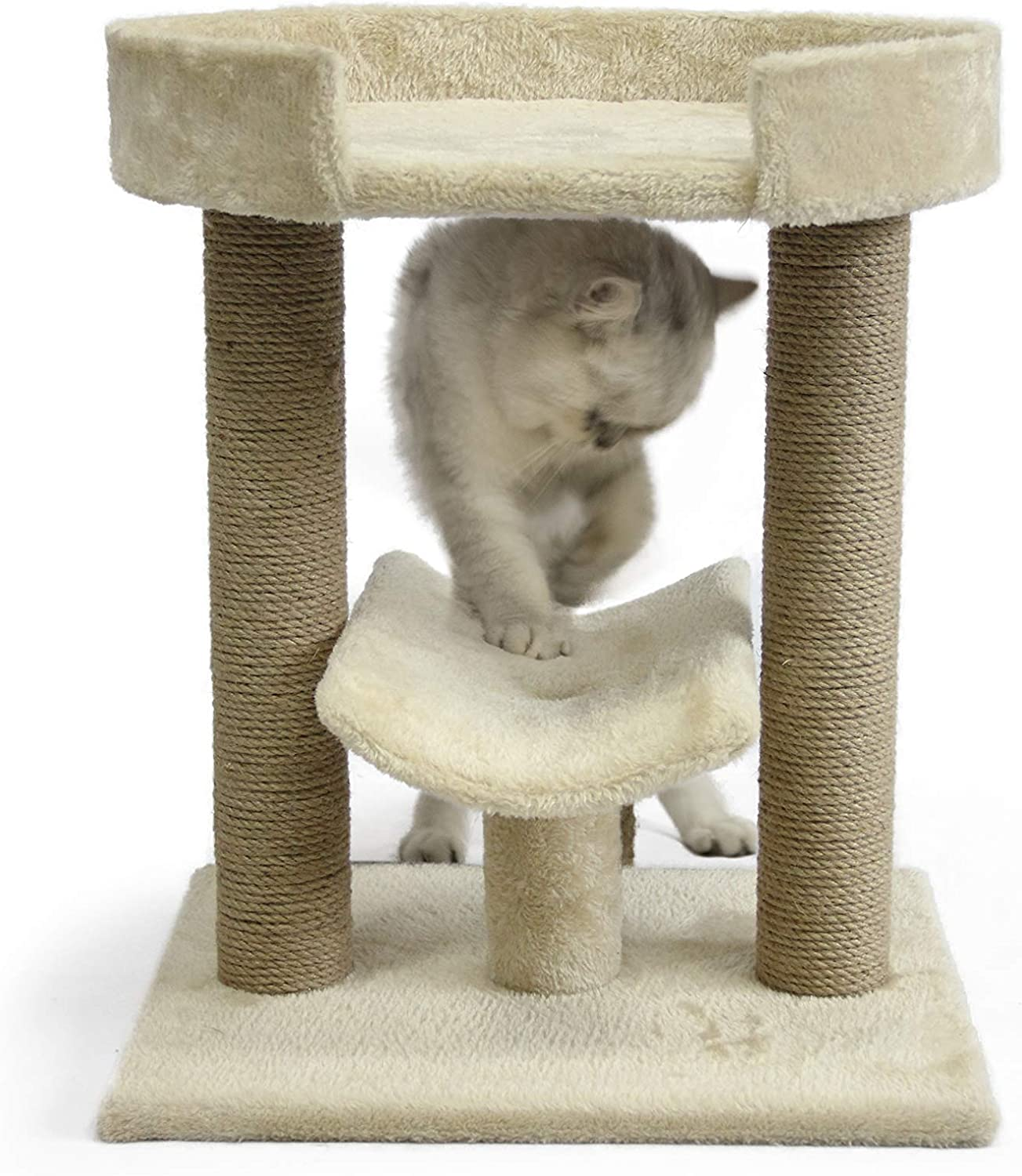 AmazonBasics Cat Tree with Platform and free prime shippping