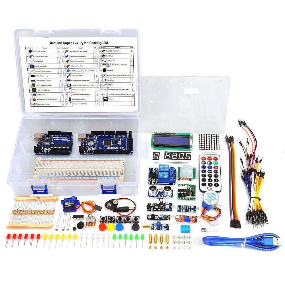 Arduino Uno R3 Kit OSOYOO (1KLRP2AO)