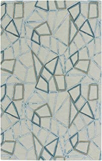 product image for Splinter Crystal 9' x 12' Rectangle Hand Tufted Rug