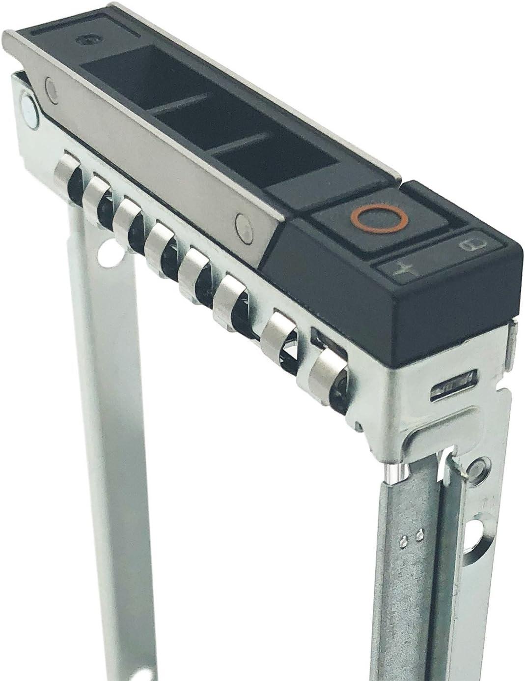 "2.5"" SSD SAS SATA NVMe Hard Drive Caddy for 14th Gen Dell PowerEdge Servers R440 R640 R740 R740xd R940 R6415 R7415 R7425 Hot Swap Bracket DXD9H"