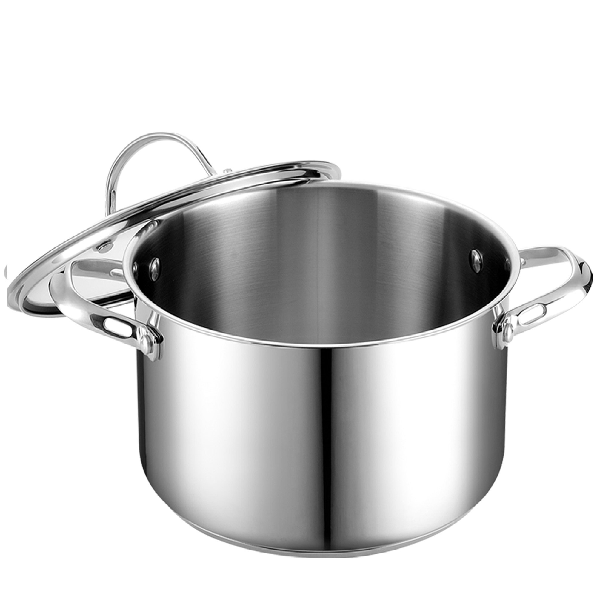 Cooks Standard 6-Quart Stainless Steel Stockpot with Lid by Cooks Standard (Image #2)