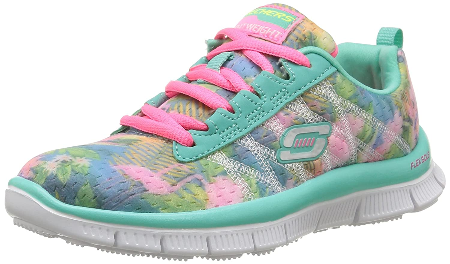 1d4031ce9043c Skechers Skech Appeal Floral Bloom, Girls' Multisport Outdoor Shoes: Amazon. co.uk: Shoes & Bags