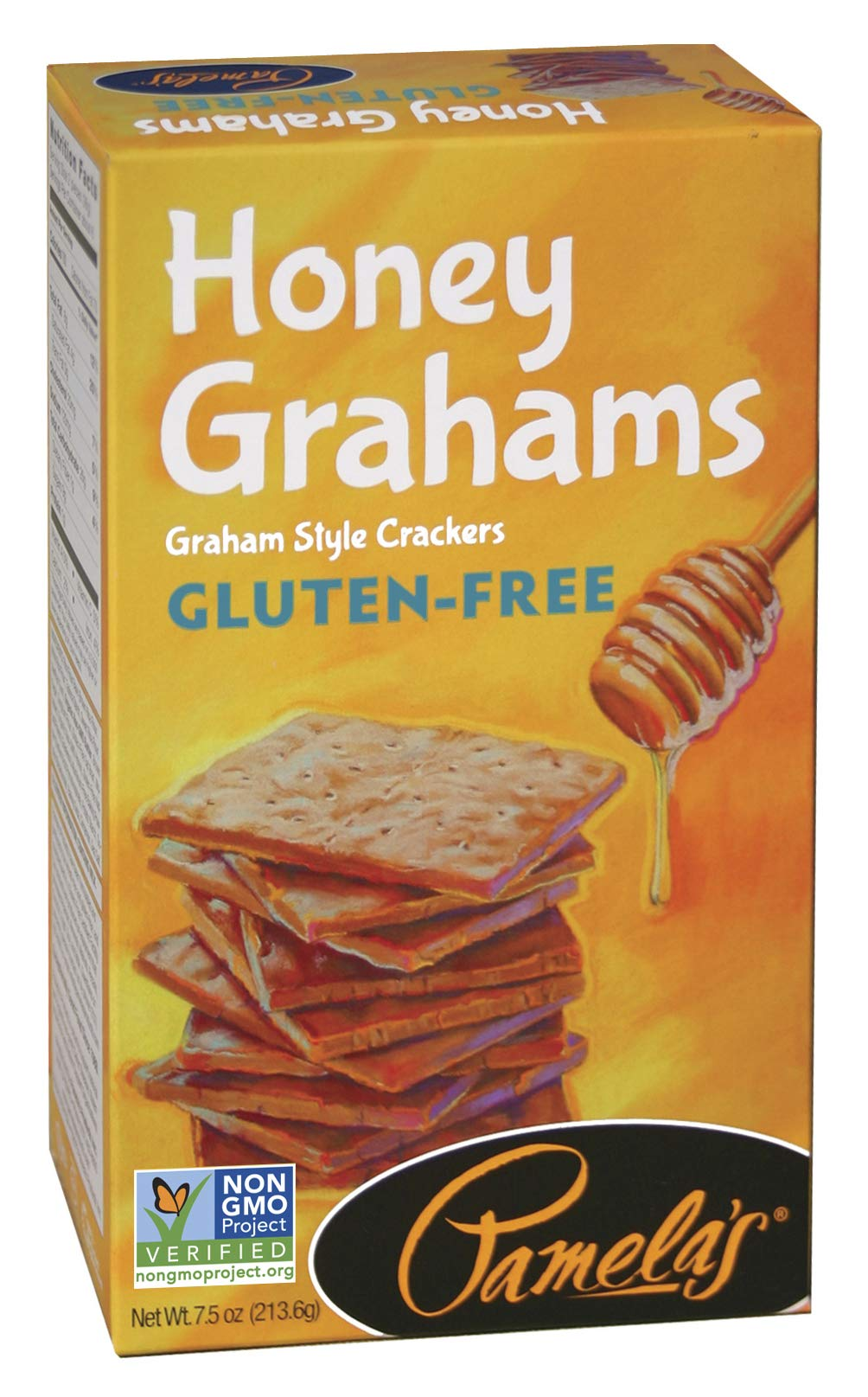 Pamela's Products Gluten Free Graham Crackers, Honey, (pack Of 6) by Pamela's Products