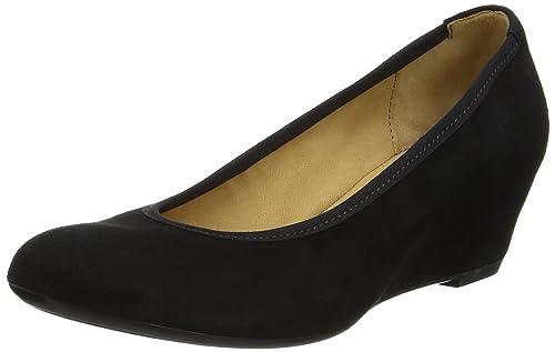 Gabor Shoes Gabor Basic, Zapatos de Tacón para Mujer, Azul (Pazifik), 37.5 EU