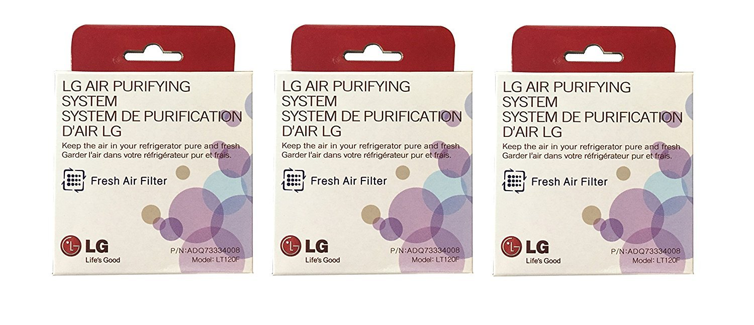 Enterpark Only Authorized Replacement Fresh Air Filter made for LG Refrigerators, LT120F