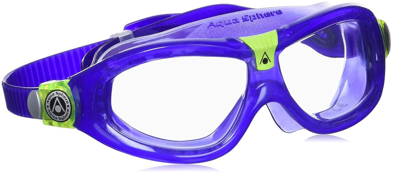 eecac29dcf1c0 Aqua Sphere Children's Seal Kid 2 Swimming Goggle, Mask, Dark Blue (Clear  Lens), Junior, Dive Skins - Amazon Canada