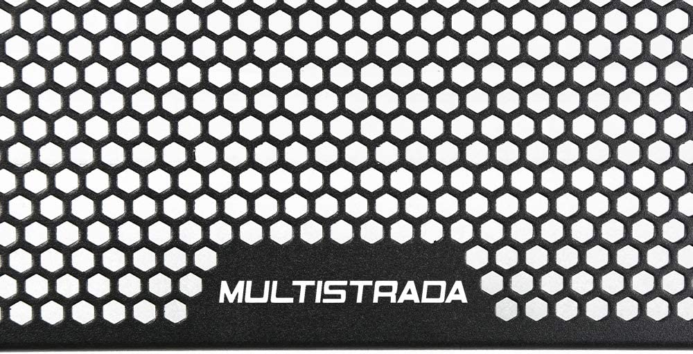 Moto en Grille de Protection Grille de Radiateur pour Ducati Multistrada 950 2017-2020 Multistrada 950 S 2019 2020 Multistrada 1260 Multistrada 1200