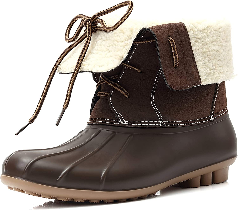 Amazon.com   GLORYA Duck Boots for