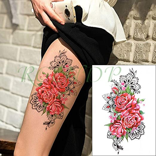 5pcs Impermeable Etiqueta engomada del Tatuaje del Reloj de ...