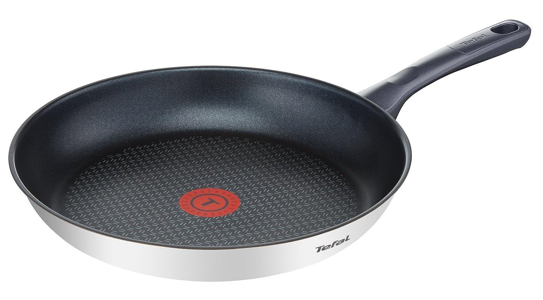 Tefal Daily Cook - Sartén de 30 cm, antiadherente de acero inoxidable, para todo tipo de cocinas incluido inducción: Amazon.es: Hogar