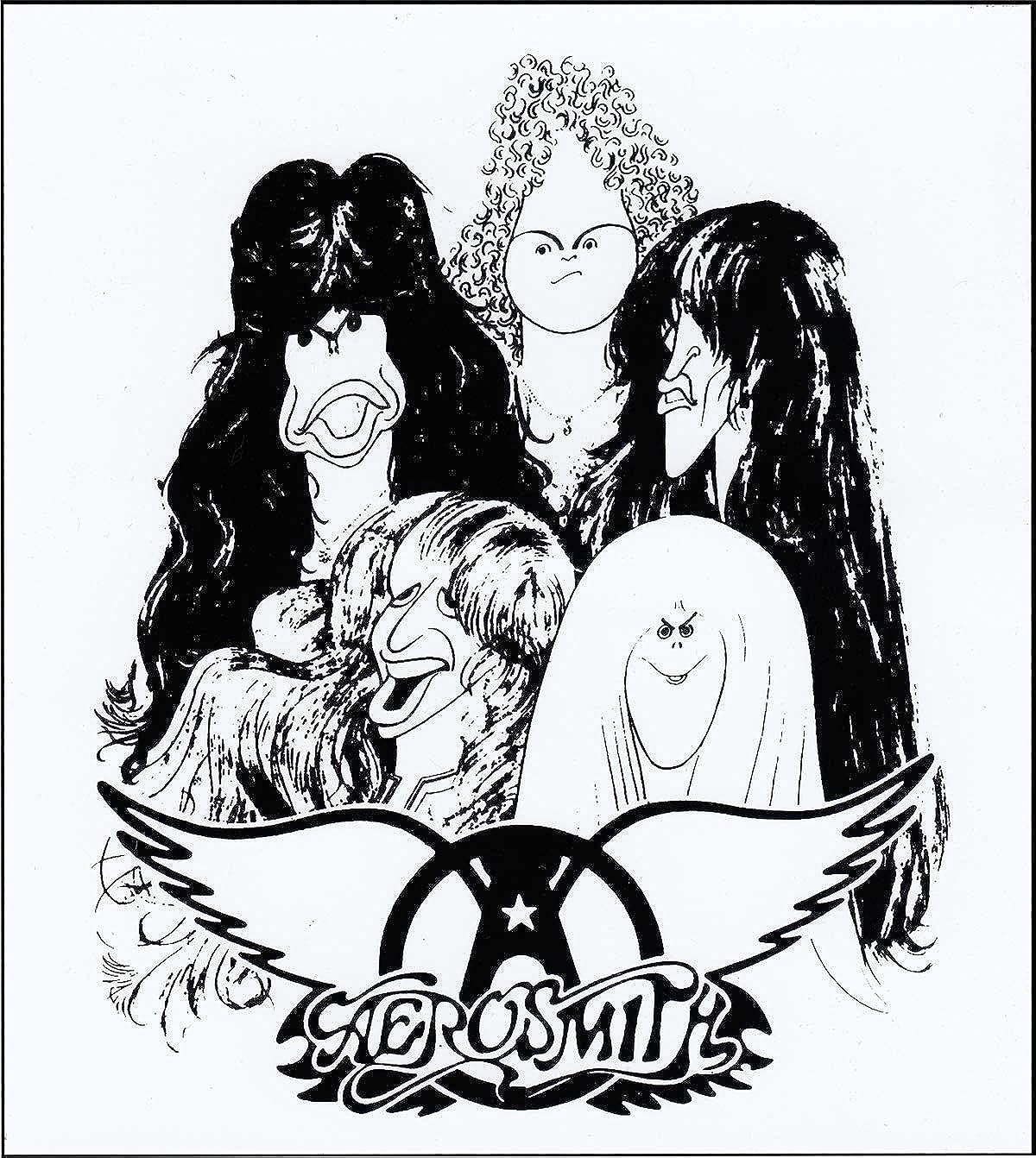 Aerosmith - Cartoon Group Shot - Sticker