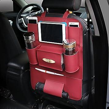 Car Storage Bag >> Amazon Com Mueyan Car Storage Bag Universal Box Back Seat