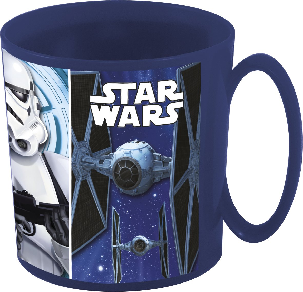 Star Wars- Taza plastico Micro 350 ml (STOR 82404): Amazon.es ...