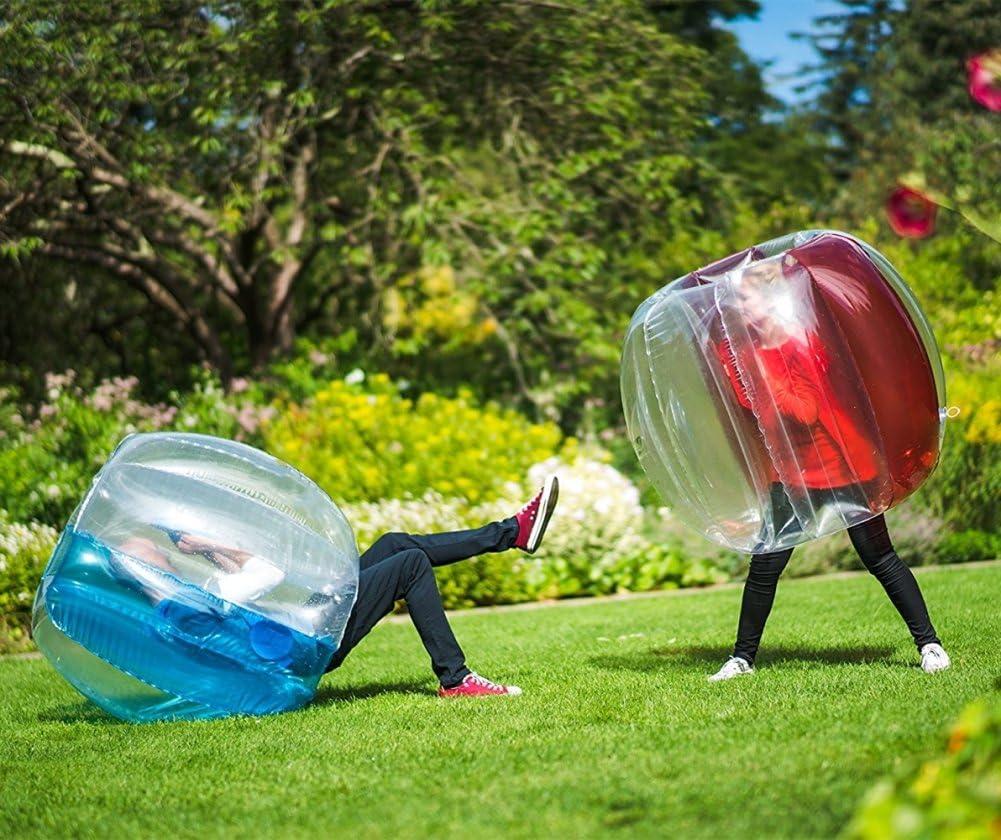 Bola de Parachoques Inflable Burbuja Soccer Boll Bubble Hinchable ...