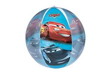 Disney Pixar, Cars 3 41222 Pelota de Playa Hinchable para ...