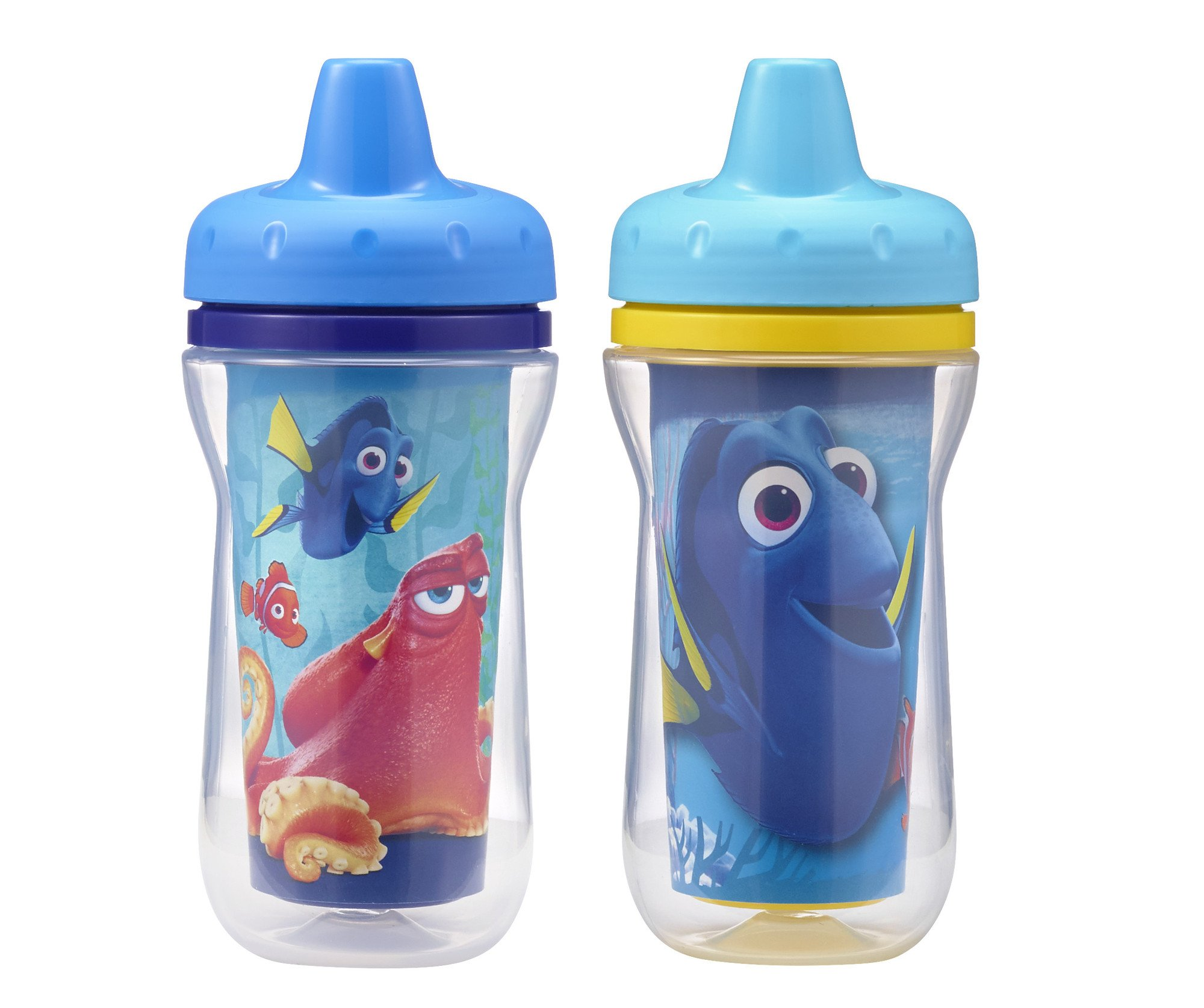 The First Years Insulated Sippy Cups, Finding Dory, 9 Ounce (Pack of 2) by The First Years