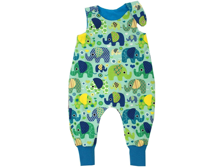 Kleine K/önige Baby Strampler Jungen Baby Body /· Modell Elefantenparty t/ürkis petrol /· /Ökotex 100 zertifiziert /· Gr/ö/ßen 50-92