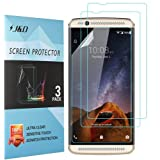 Axon 7 Mini Screen Protector, J&D Premium HD Clear Film Shield Screen Protector for ZTE Axon 7 Mini (3 Packs)