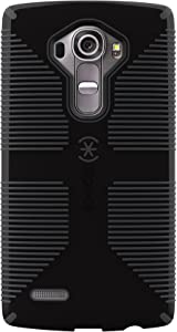 Speck Products Cell Phone Case for LG G4 - Retail Packaging - Black/Slate Gray