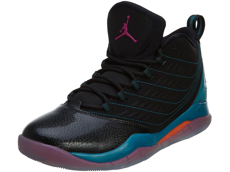 Nike Jordan Velocity Men Black Tropical Teal Electro Orange Fusion Pink 688975-025