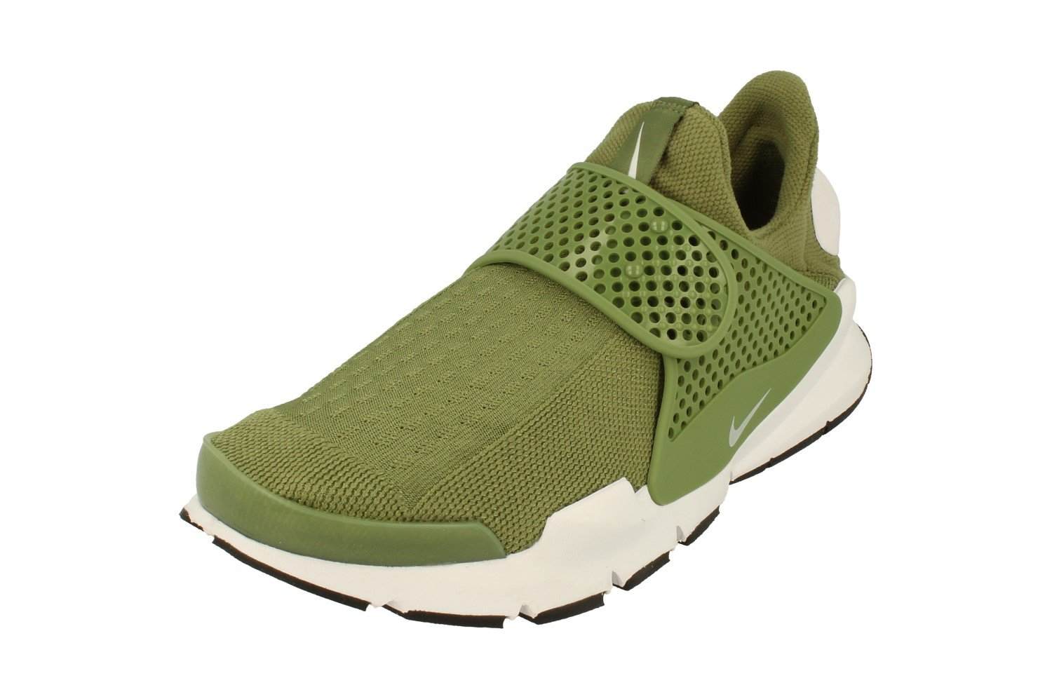 the latest 771d1 f986f Galleon - NIKE Womens Sock Dart Running Trainers 848475 Sneakers Shoes (US  8, Palm Green White Black 300)