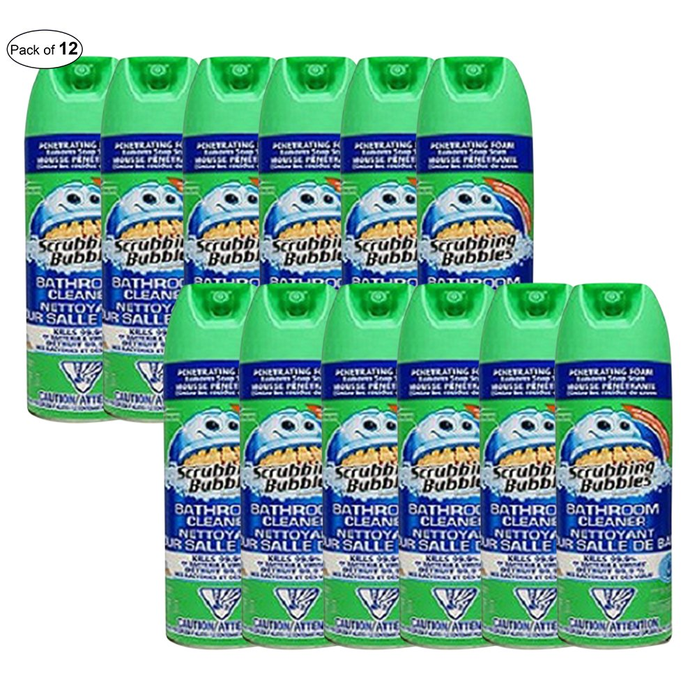 Scrubbing Bubbles Bathroom Cleaner Fresh (623g) (Pack of 12) by Scrubbing Bubbles ® (Image #1)