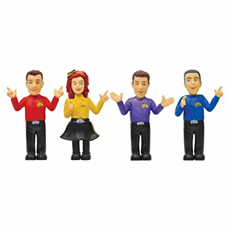 The Wiggles 4 Figure Pack Set Anthony Emma Lachy And