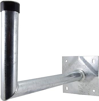 Satix Soporte de Pared de acero (50 cm de Distancia a la Pared) para antena parabolica