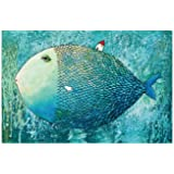 Meryi Art Fish Jigsaw Puzzles for Adults 1000 Piece, Adult Children Intellective Educational Toy DIY Collectibles Modern Home