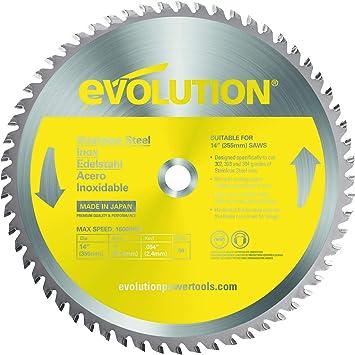 Evolution Evolution Acier Coupe Lame de scie circulaire 255 x 2 x 25.4 m HTC 255 STEE