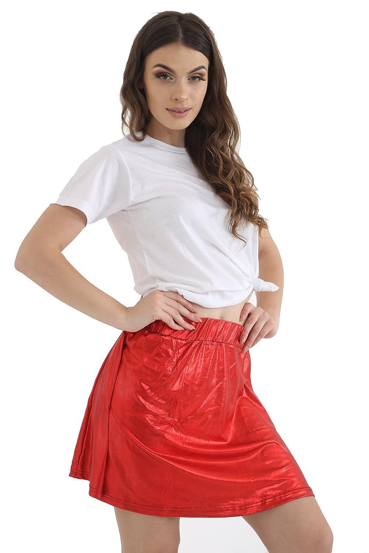 GW CLASSYOUTFIT® Girls Kids Metallic Dance Skirt Halloween Fancy Ballet Dress party 5 to 13