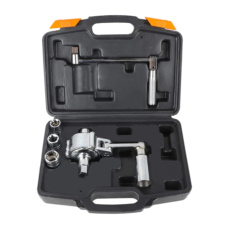 Moltiplicatore di coppia da 1//2 con chiave dinamometrica per rimozione di dadi di pneumatici auto smontaggio e manutenzione