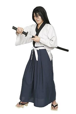 Los hombres grandes series ladroen del traje de samurai ...