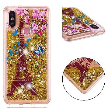 Lyzwn Funda iphone 11 Pro Purpurina Transparente Fundas ultra