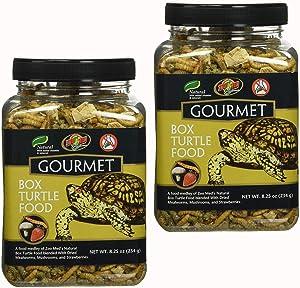 Gourmet Box Turtle Food Net Wt 8.25oz (254g) (2 Pack)