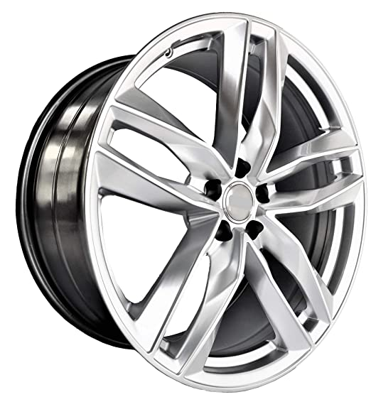 Amazon Com 21 Inch Silver Wheels Rims Full Set Of 4 Fit For Audi