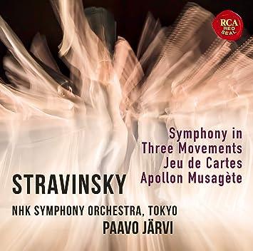 20世紀傑作選(3)ストラヴィンスキー:3楽章の交響曲・カルタ遊び・ミューズの神を率いるアポロ