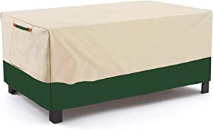 Umbrauto Outdoor Bench Cover Heavy Duty Durable and Waterproof Outdoor Lawn Patio Furniture Covers Bench Protectors