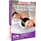 Red Letter Days Spa and Salon Treats for Two Gift Voucher – 570 UK spa and salon experiences for two