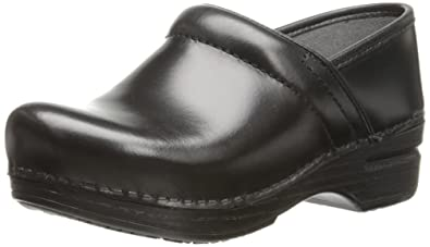 Flats Sanita 37 Us 6.5-7 Brown Leather Crackle Closed Heel Clogs Beautiful In Colour