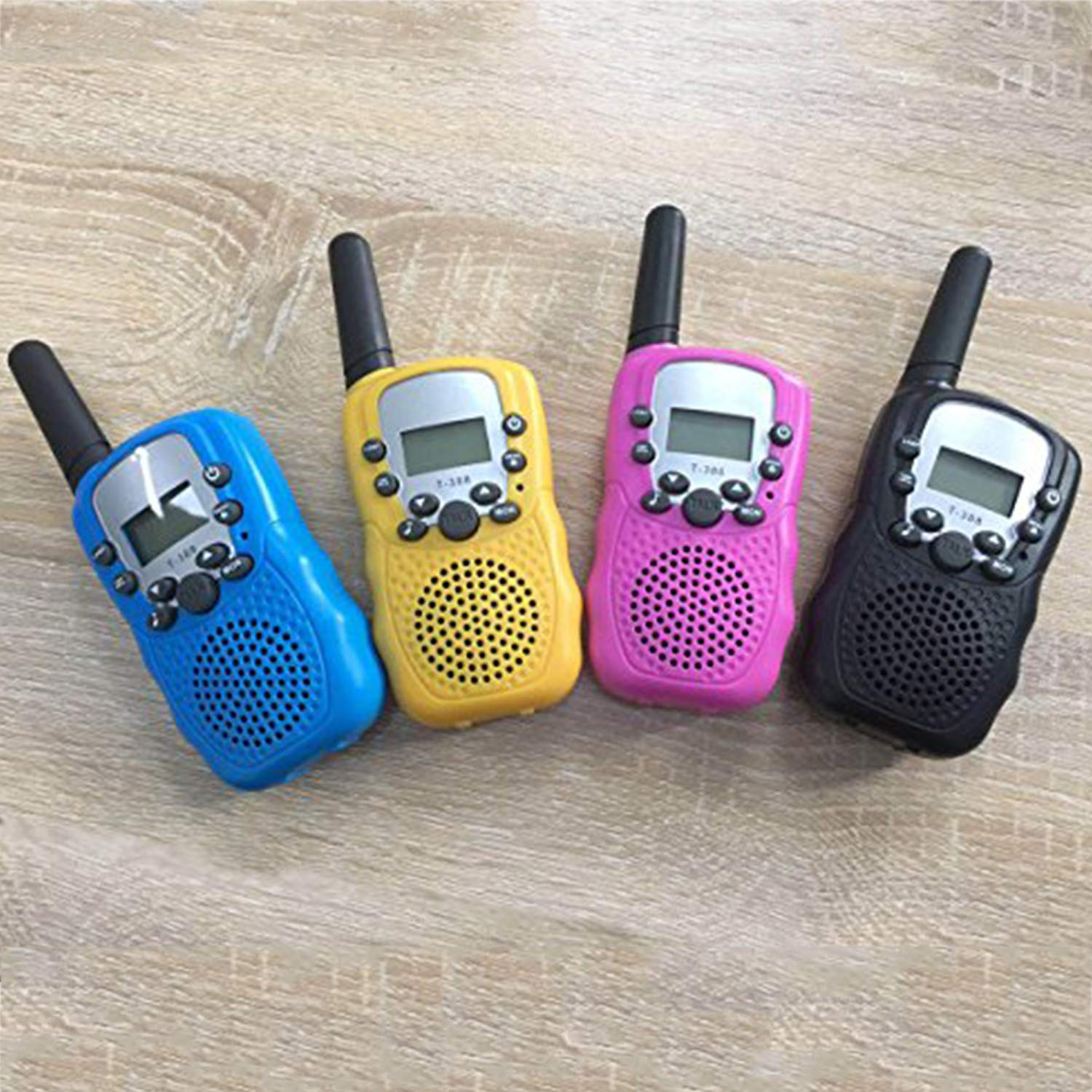 4Pack Kids Walkie Talkie Girls Boys Long Range Two Way Radio 22 Channel LED Flashlight Marine Cruise FRS Camping Accessories Toys Hiking Family Games Outdoor Holiday Birthday Gifts [SUPER CUT] by iGeeKid (Image #7)