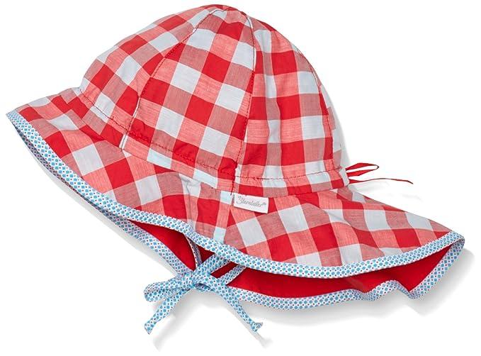 Nackenschutz Sterntaler Baby-M/ädchen M/ütze Hut M