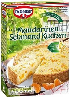 Dr Oetker Mandarinen Schmand Kuchen 4er Pack 4 X 460 G Amazon
