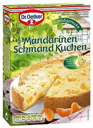 Dr Oetker Mandarinen Schmand Kuchen 460g Amazon De Lebensmittel