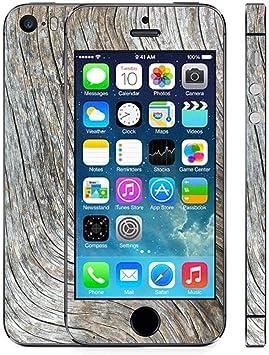 stika.co Wood Designs - Vinilo Adhesivo para Apple iPhone 5 y 5S ...