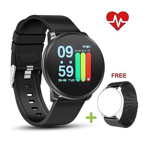 NEEKFOX Pulsera de Actividad Inteligente para Hombre Mujer Niño Impermeable IP67 Smartwatch con Pulsómetro Monitor de Sueño Reloj Deporte Inteligente ...