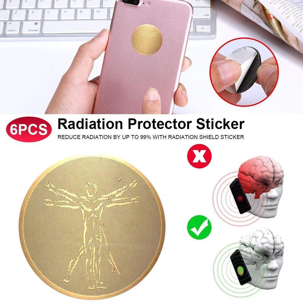 Patients Vieillards yummyfood 6pcs EMF Protection Patch Anti Ondes Anti Radiations pour Les Femmes Enceintes Enfants