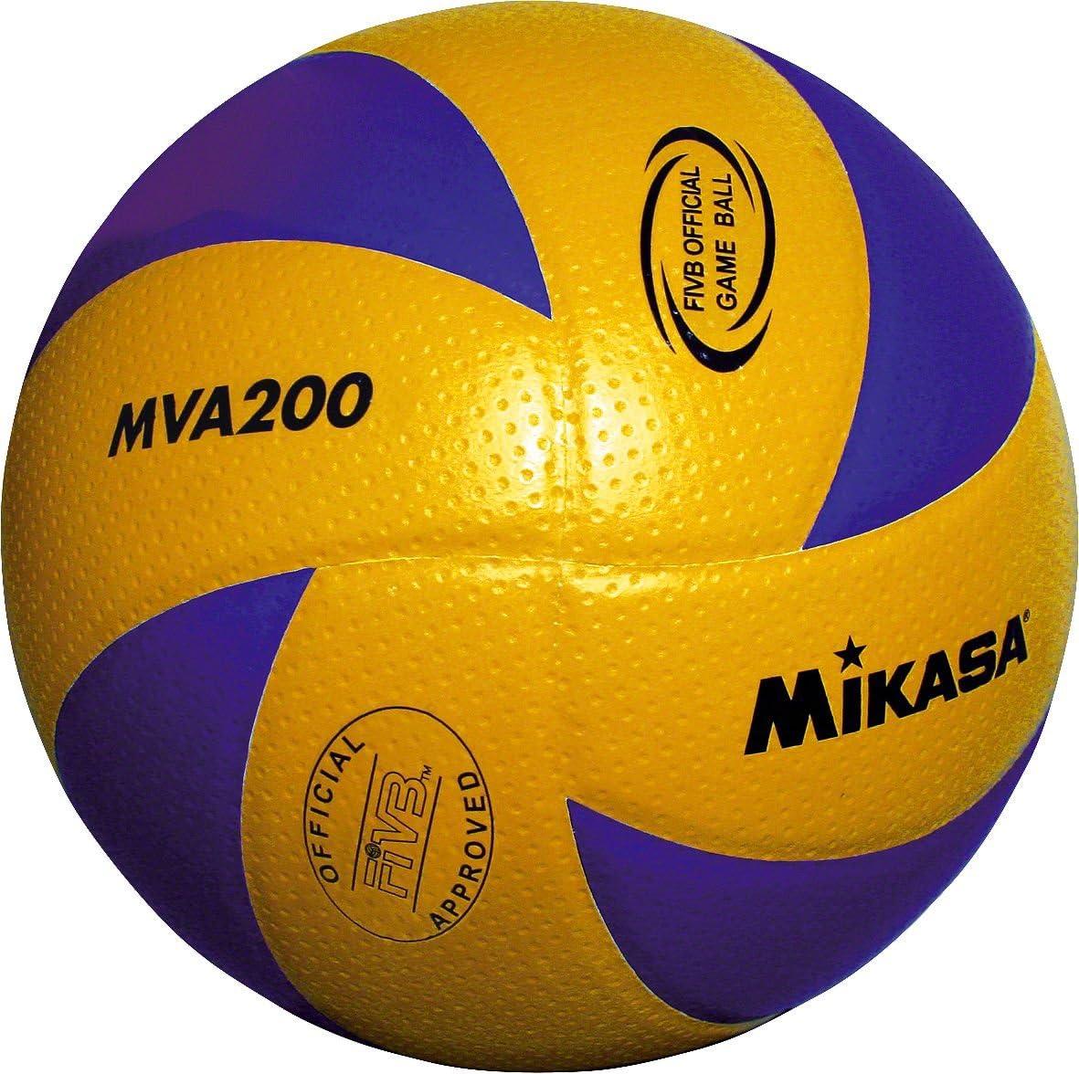 Mikasa MVA 200 - Pelota para Voleibol (Talla 5): Amazon.es ...