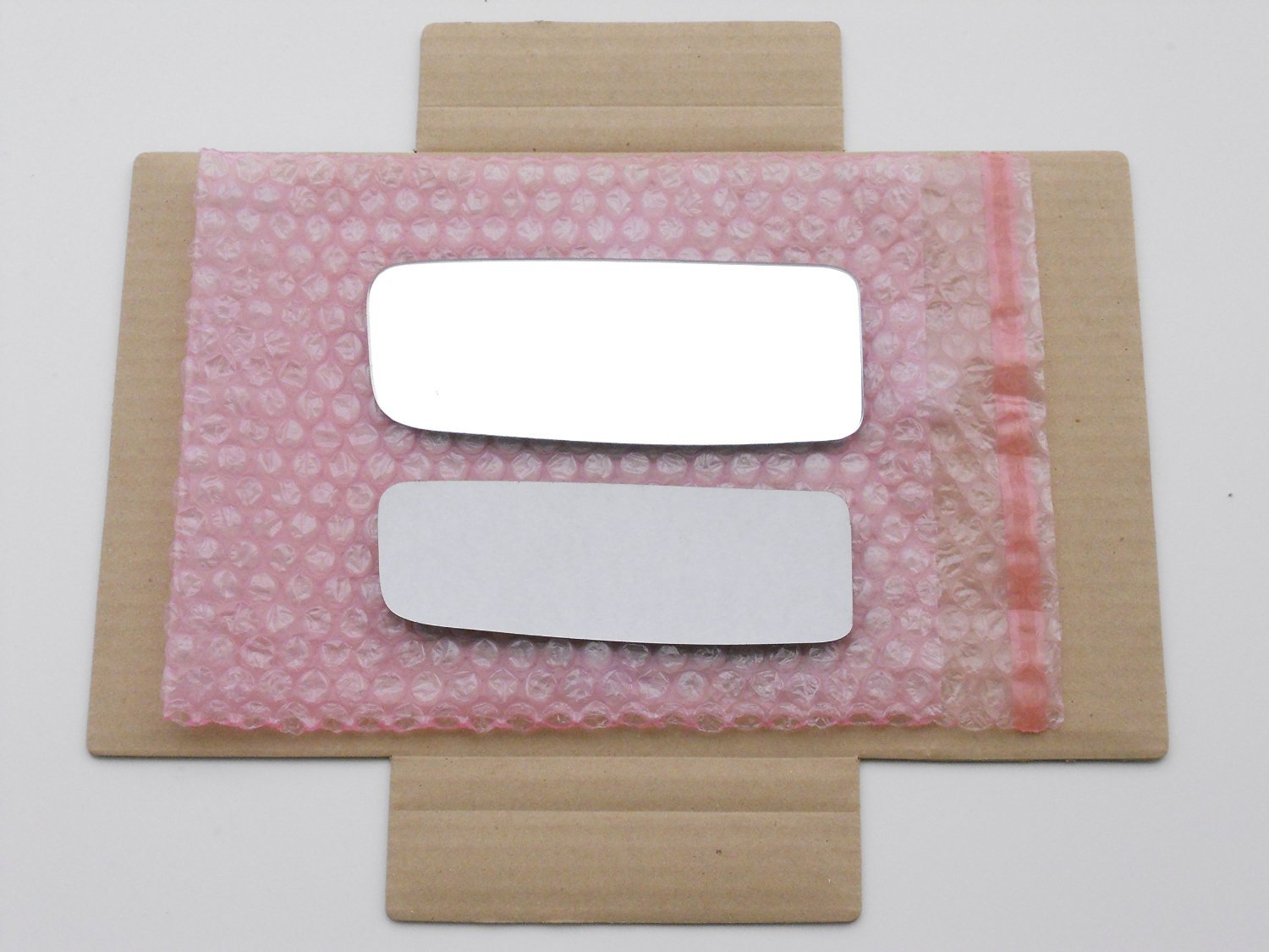 CHECK SIZE New LOWER CONVEX Replacement Mirror Glass with FULL SIZE ADHESIVE for SPRINTER Driver Side View Left LH